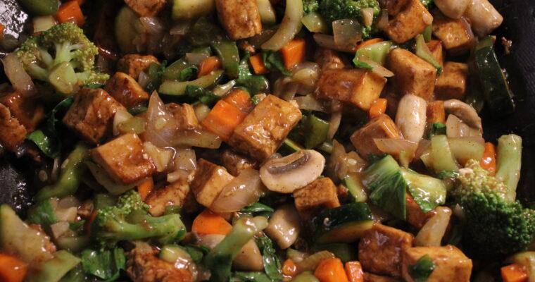 Thai Basil Tofu (Pad Krapow)