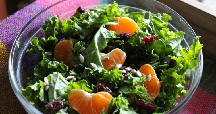 Clementine & Kale Salad