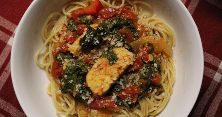 One-Pot Vegan Spaghetti