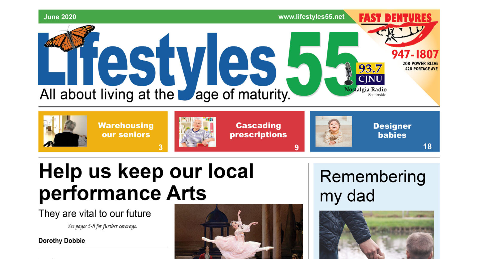 Lifestyles 55 June 2020 issue