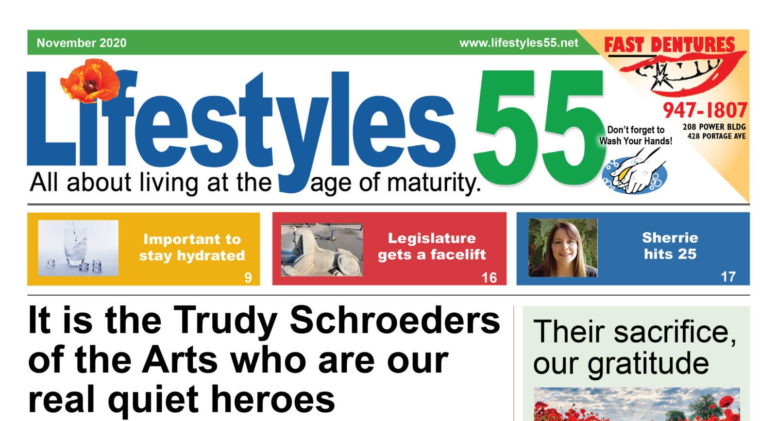 Lifestyles 55 November 2020 issue
