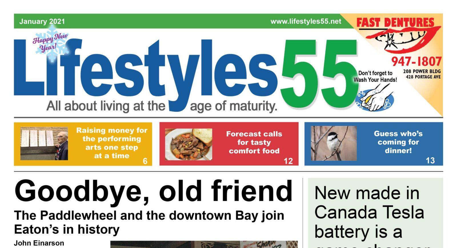 Lifestyles 55 January 2021