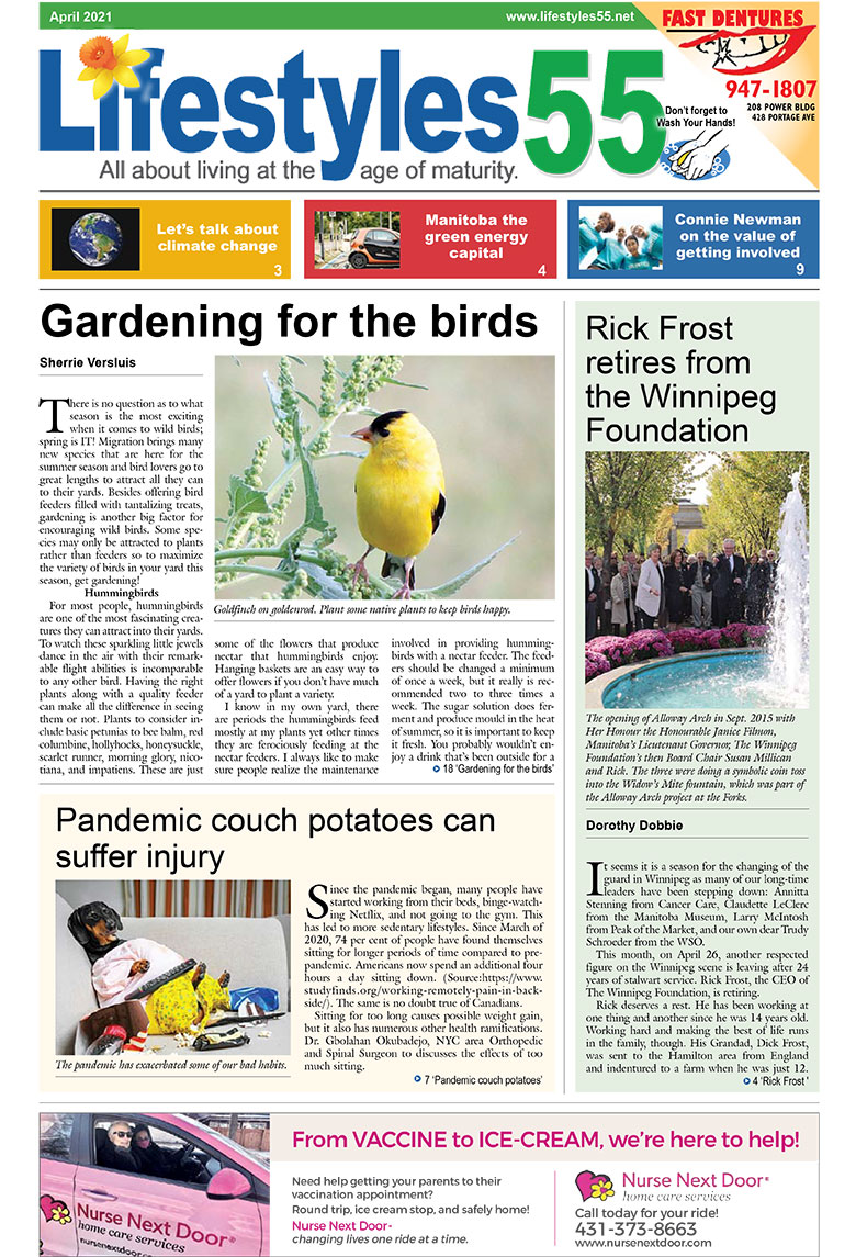 Lifestyles 55 April 2021 issue