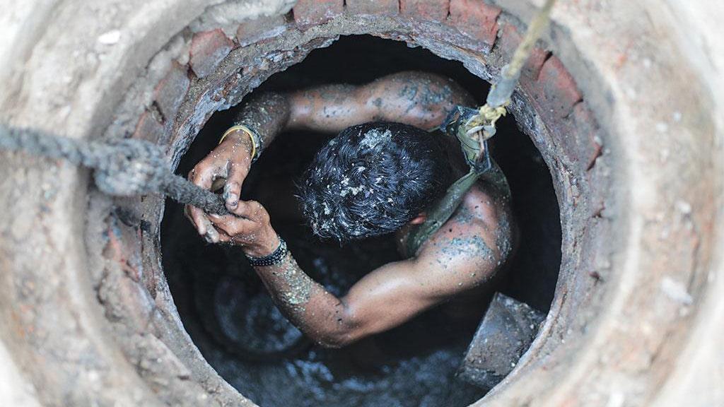 Excavador de pozo negro
