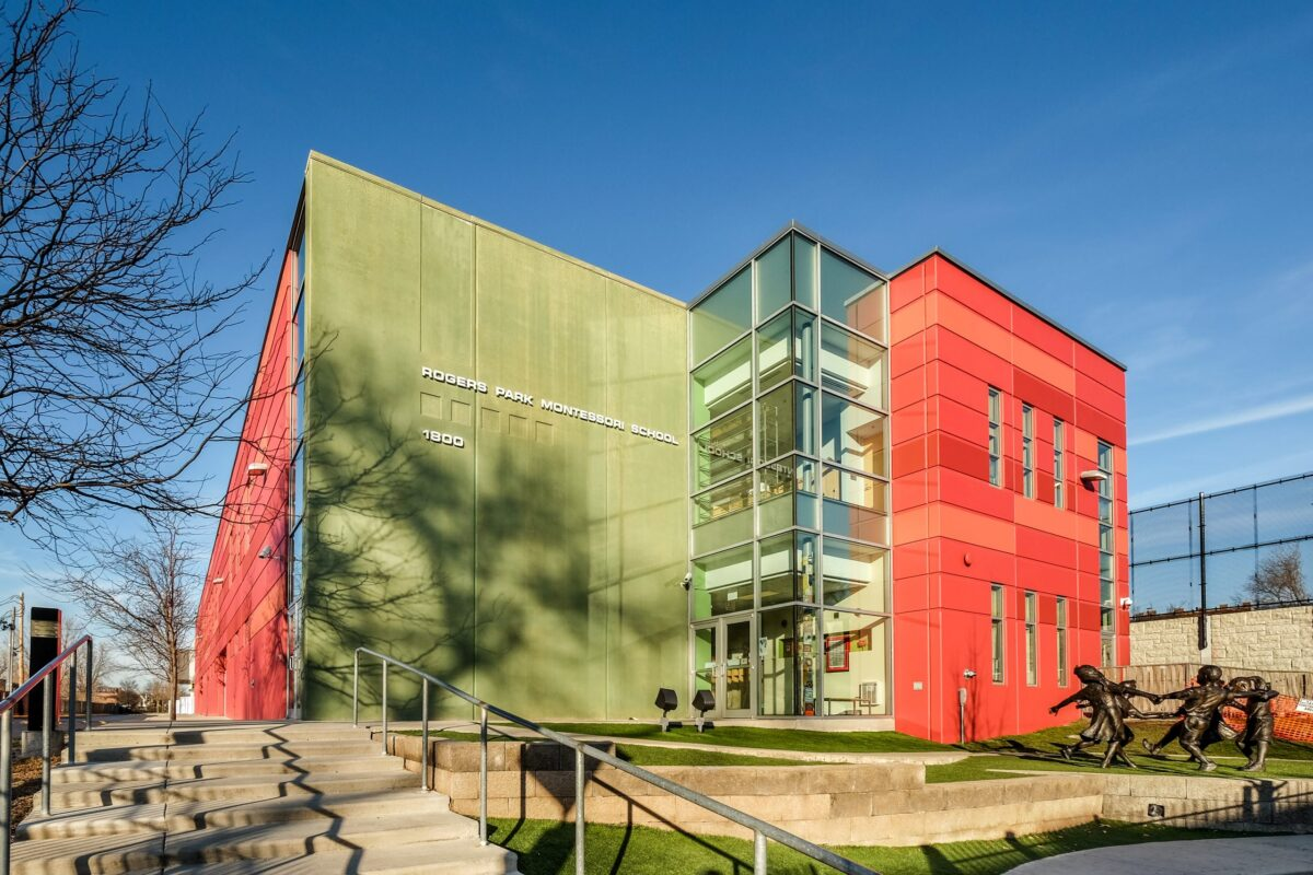 Skyline Plastering - Rogers Park Montessori School