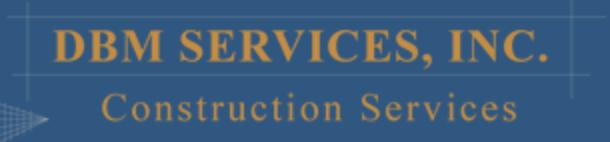 DBM Services logo - Skyline Plastering