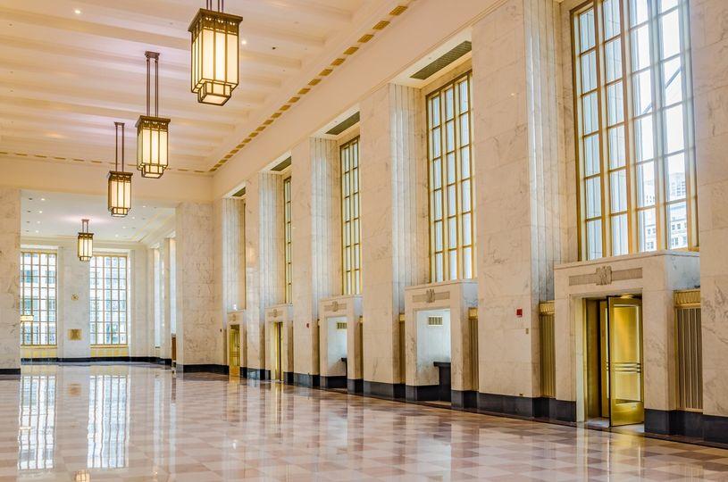 Skyline Plastering - Old Post Office Lobby