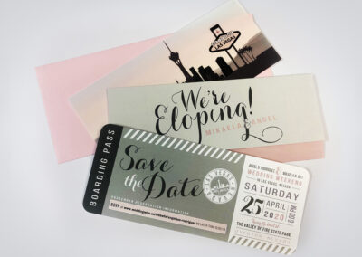 Angel D. Rodriguez & Mikaela B. Gift – Wedding Invitation