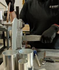 Los flexbraids fabricados expertamente a mano en Storm.