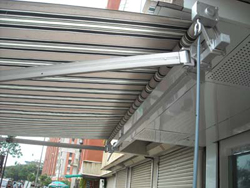 Retractable Awning Manual operating systems