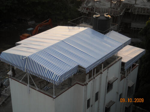Hut Type Fixed Awning