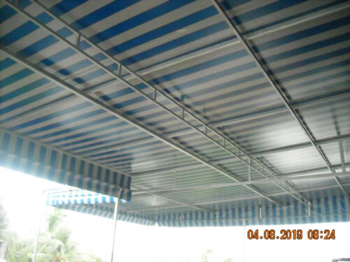 terrace fixed awning