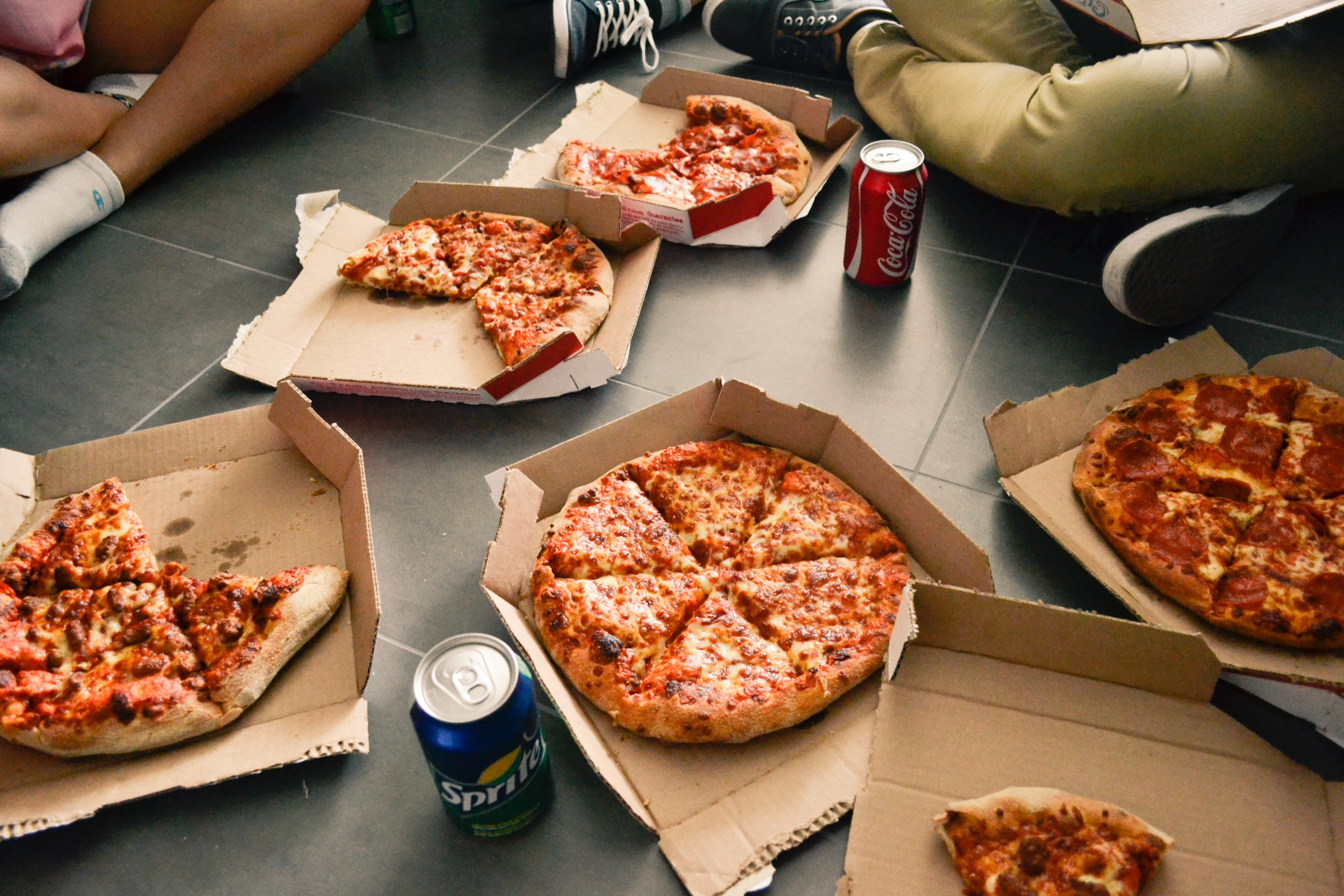pizza after a good move