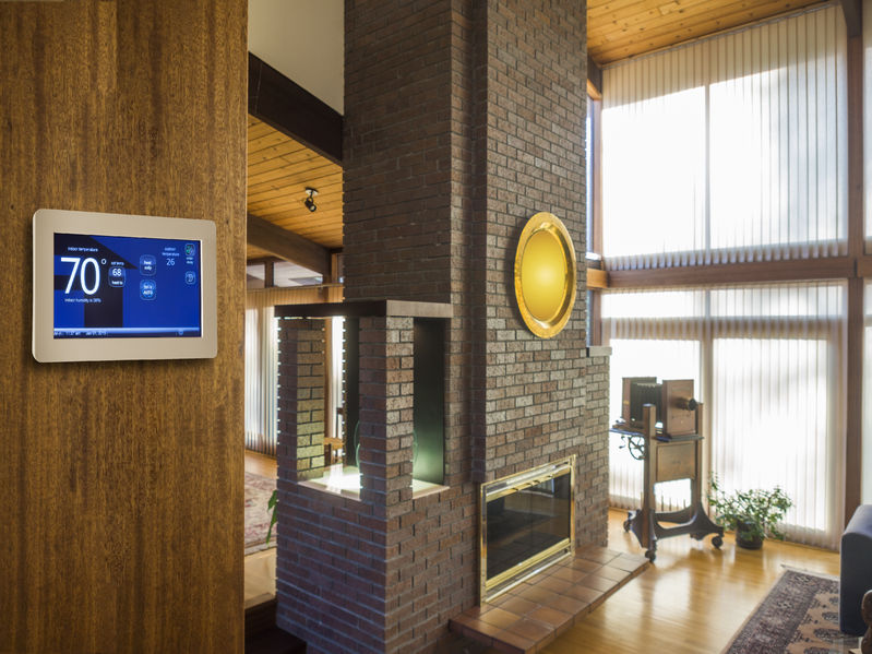 Living Room Programmable Thermostat