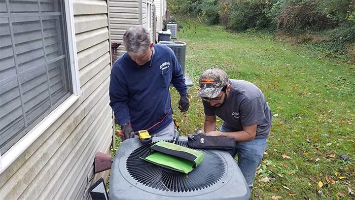 HVAC installation in Knoxville TN