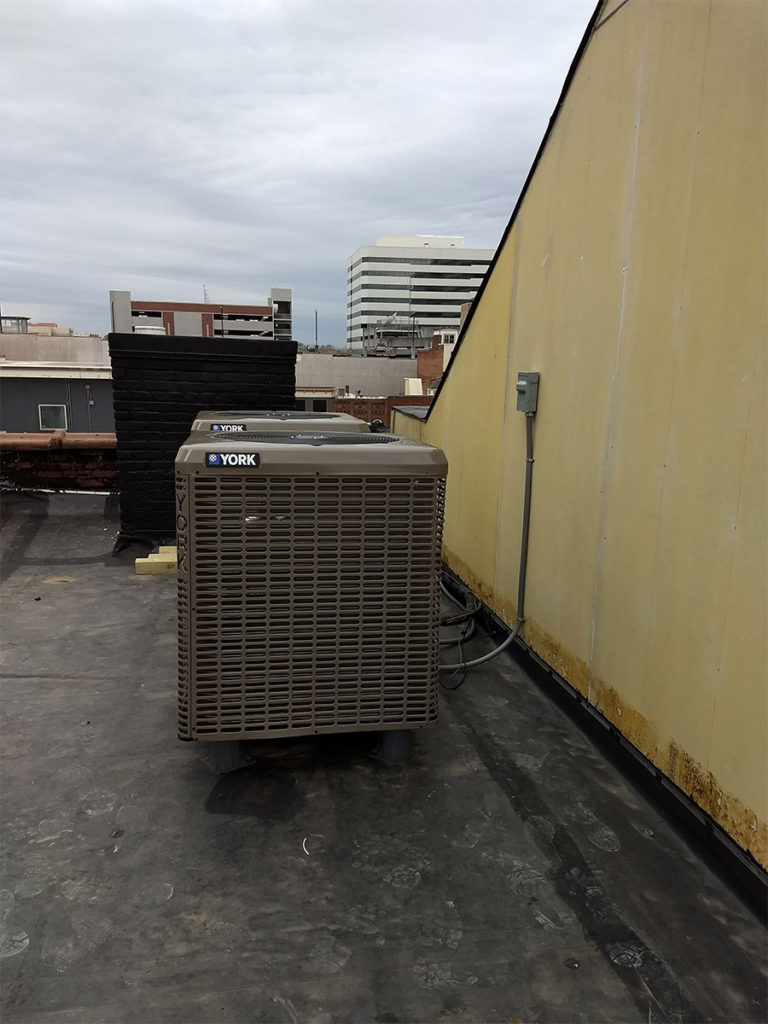 JC's Heating and Air Commercial HVAC Project-2