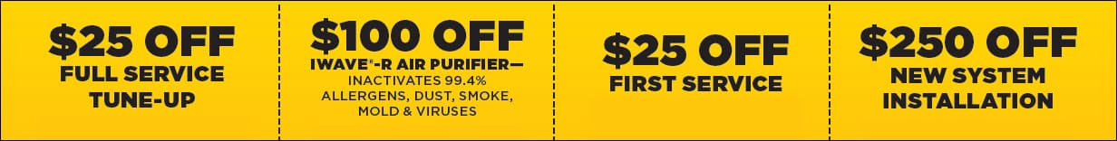 JC's Heating and Air Knoxville Money Saving Coupons