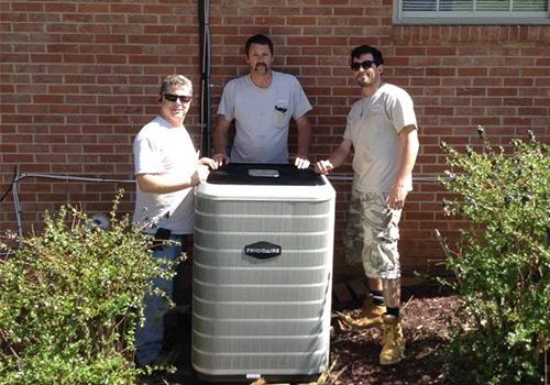 HVAC Installation Team