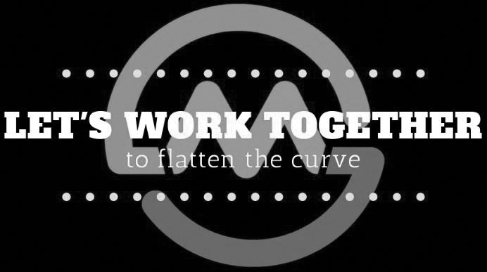 let's work together to flatten the curve