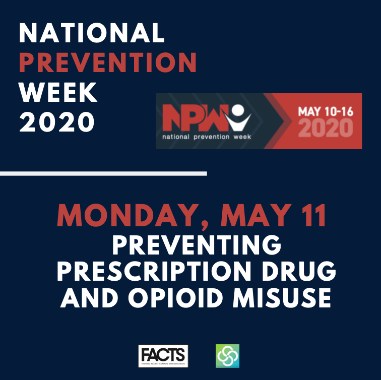 National Prevention Week_Monday May 11, Preventing Prescription Drug and Opioid Misuse