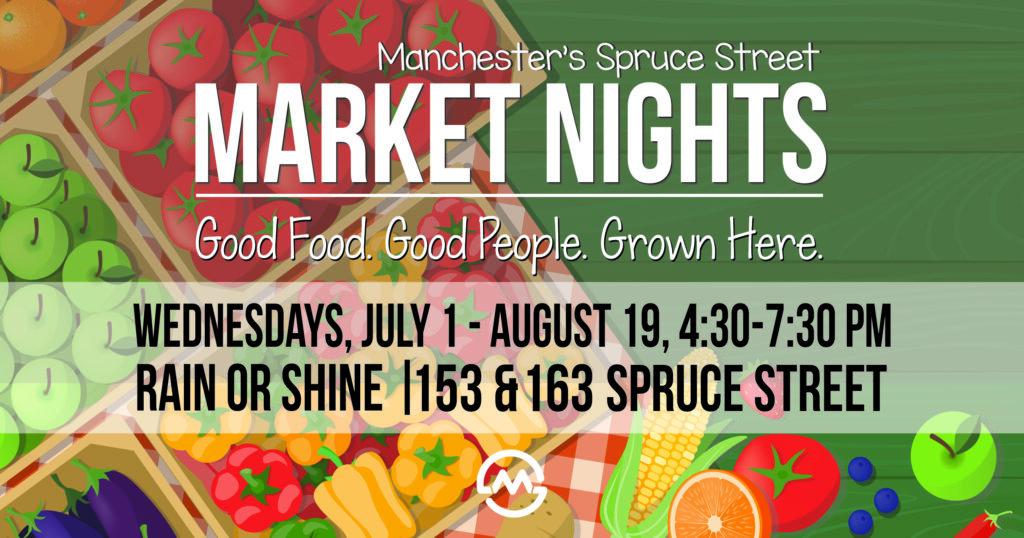 Spruce Street Market Nights Advert