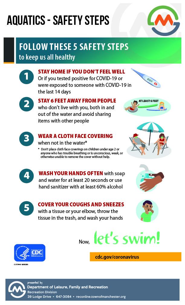 CDC Aquatic Venue Safety Tips