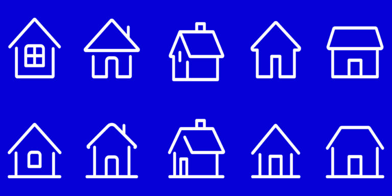 Vector Housing Outlines