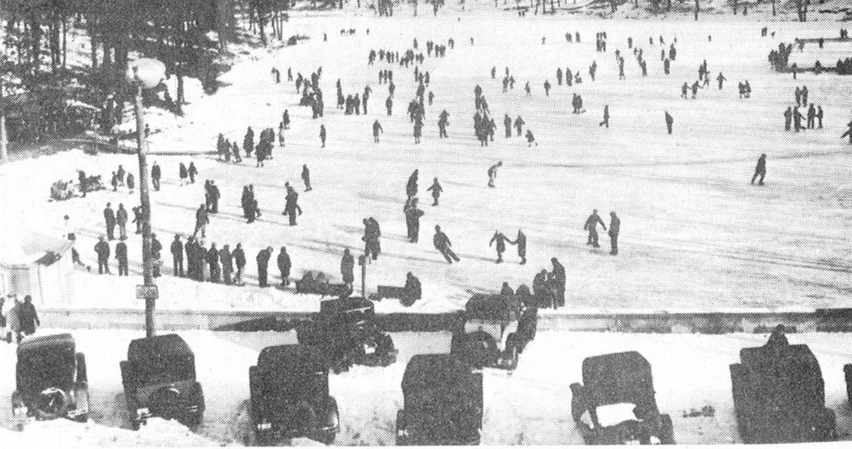Center Springs Winter - 1930