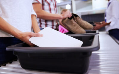 New Academic Research Shines Light on UVC Disinfection of Airport Security Bins