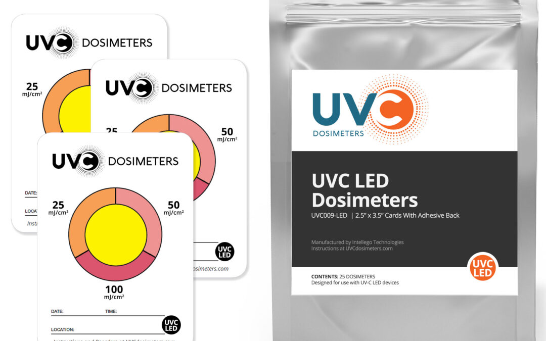 Intellego Technologies Unveils New UVC LED Dosimeter Cards for 260-280 Nanometer Wavelengths