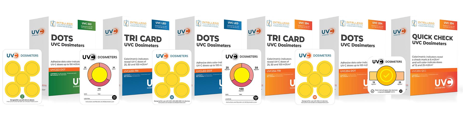dosimeters from UVC Dosimeters