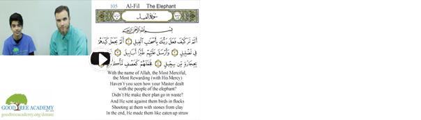 Some Benefits of Surah Al-Fil
