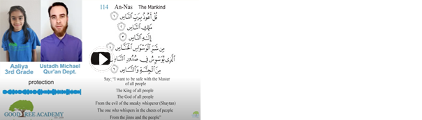 Some Benefits from Surah An-Nas (114) The Mankind