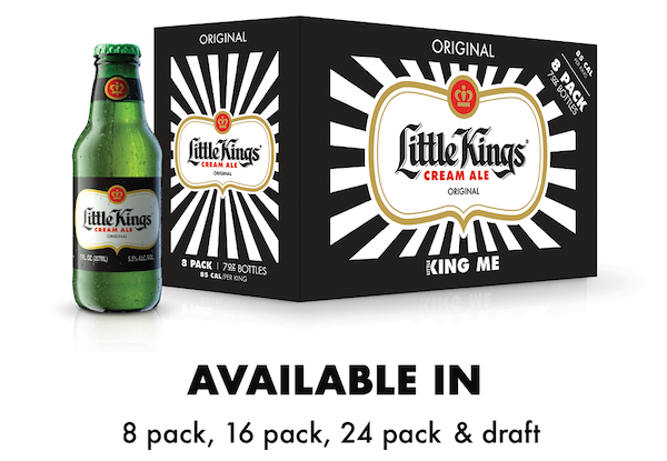 Little Kings Available in 8 pack, 16 pack, 24 pack and draft
