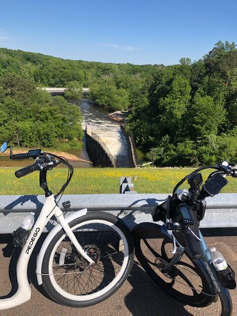 Hop Yard to Falls Lake Dam Ebike Ride
