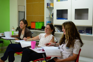 Students at WLT
