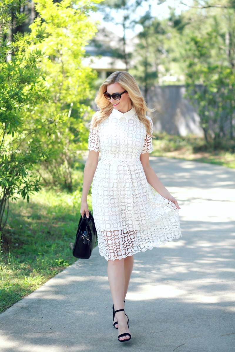 Easter Dress 2 Ways by fashion blogger Sara of Haute & Humid