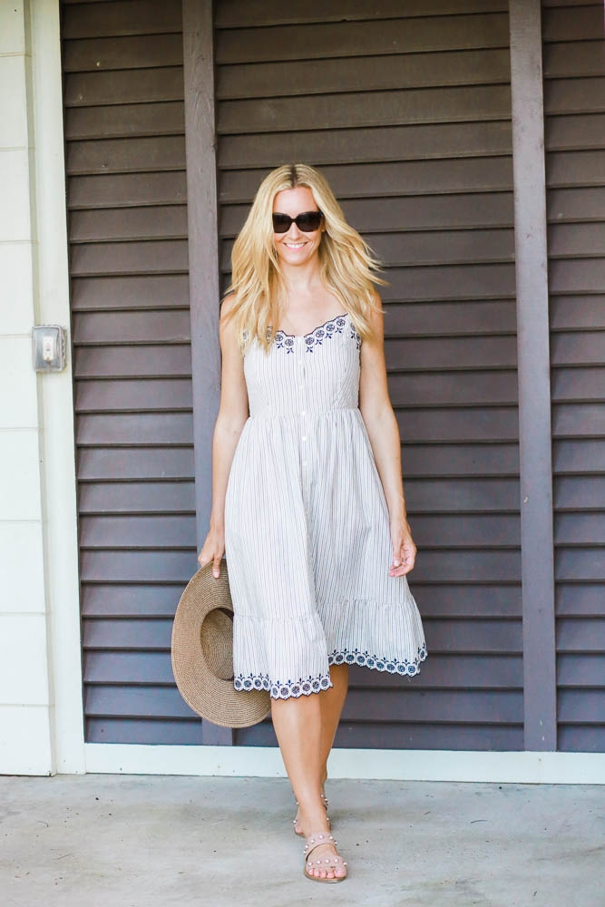 3 Sweet Embroidered Sundresses Under $150