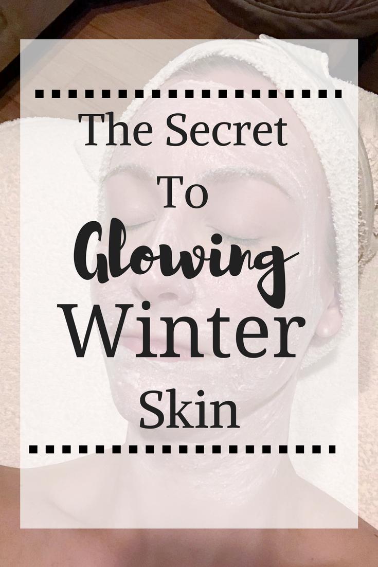glowing winter skin by popular Houston beauty blogger Haute & Humid
