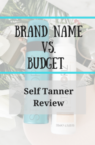 Brand Name vs. Budget Sunless Tanner Review