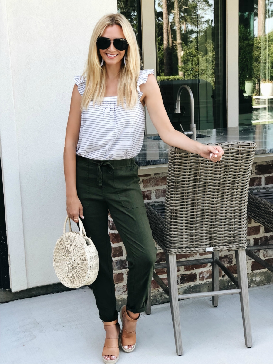 alternatives to shorts - 3 Alternatives To Summer Shorts featured by popular Houston fashion blogger, Haute & Humid