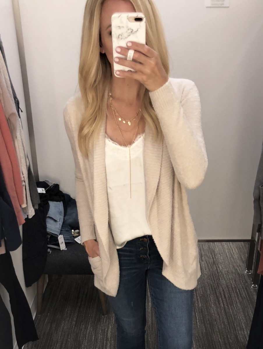 barefoot dreams cardigan - 2018 Nordstrom Anniversary Sale EARLY ACCESS: MUST HAVES featured by popular Houston style blogger Haute & Humid
