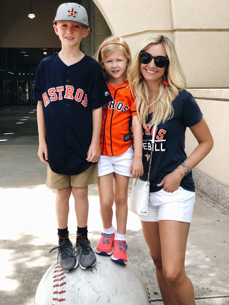 houston astros - 35 Fun Family Activities In Houston featured by popular Houston blogger Haute & Humid