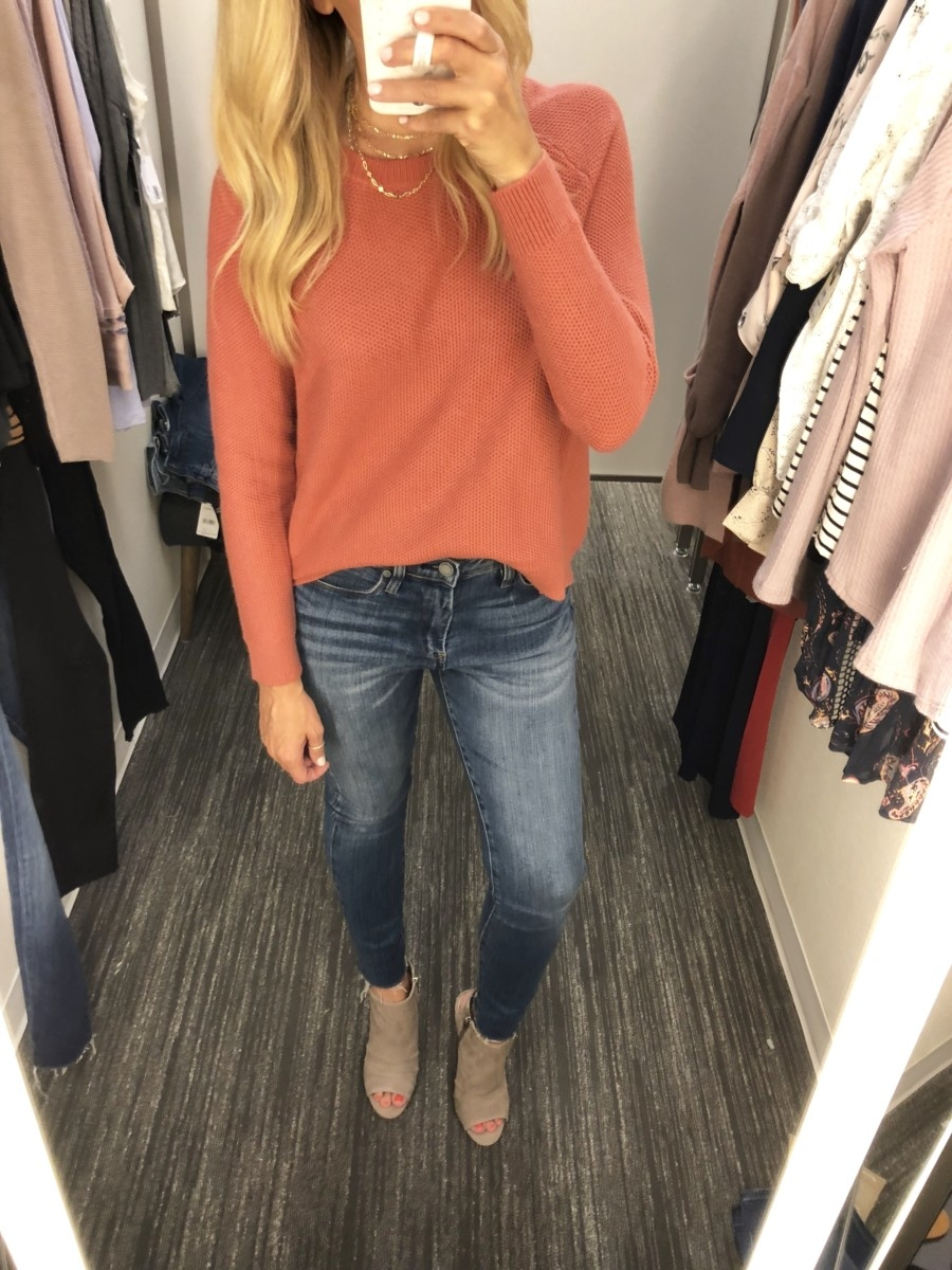 madewell sweater - 2018 Nordstrom Anniversary Sale EARLY ACCESS: MUST HAVES featured by popular Houston style blogger Haute & Humid