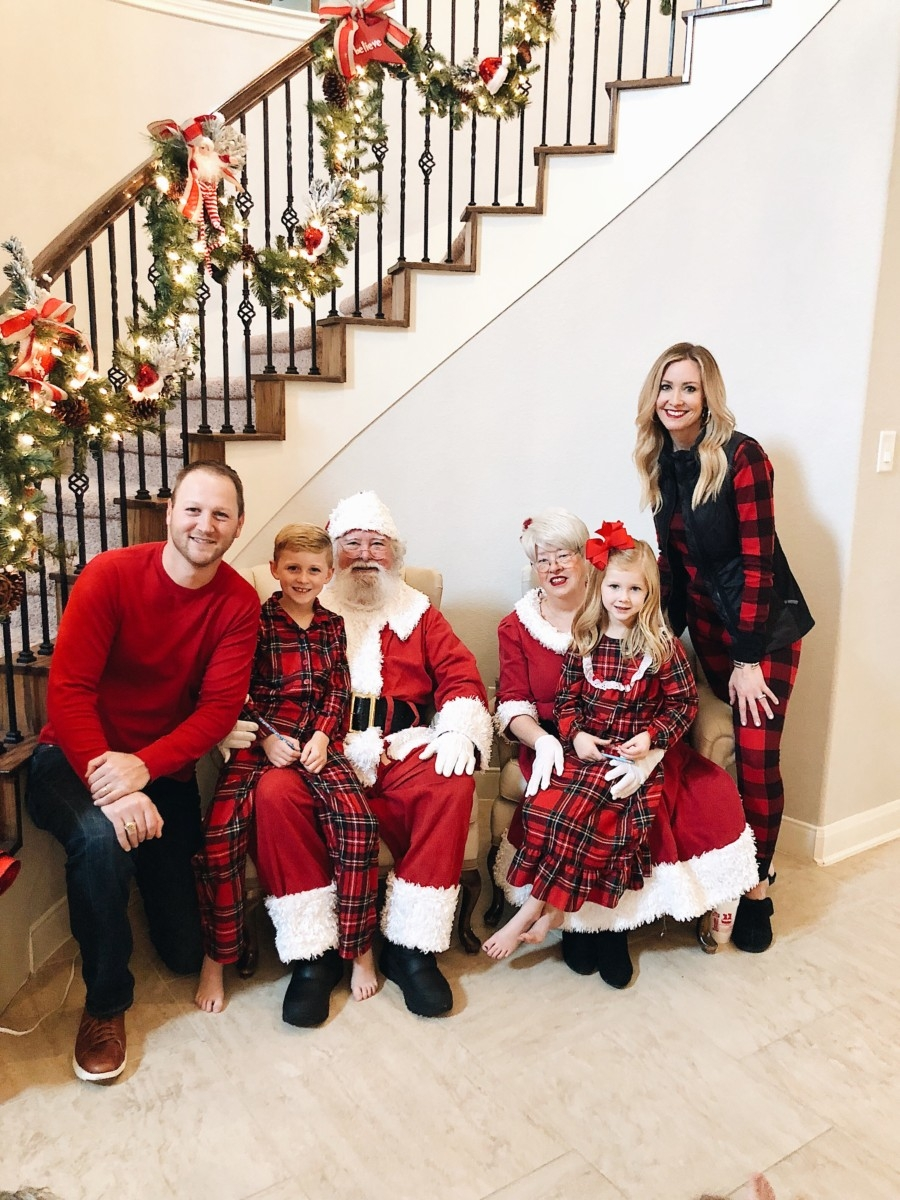 Christmas Pajamas | 5 Easy Christmas Treats For Friends And Neighbors featured by top Houston lifestyle blog Haute & Humid