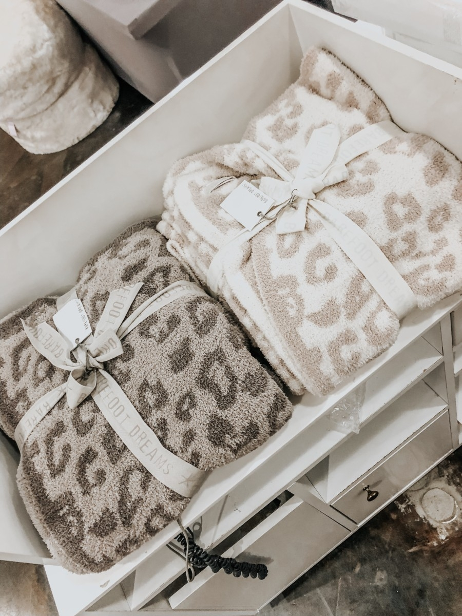 Barefoot Dreams Blanket leopard | Nordstrom Anniversary Sale Favorites by popular Houston fashion blog, Haute and Humid: image of Barefoot Dreams Blanket.