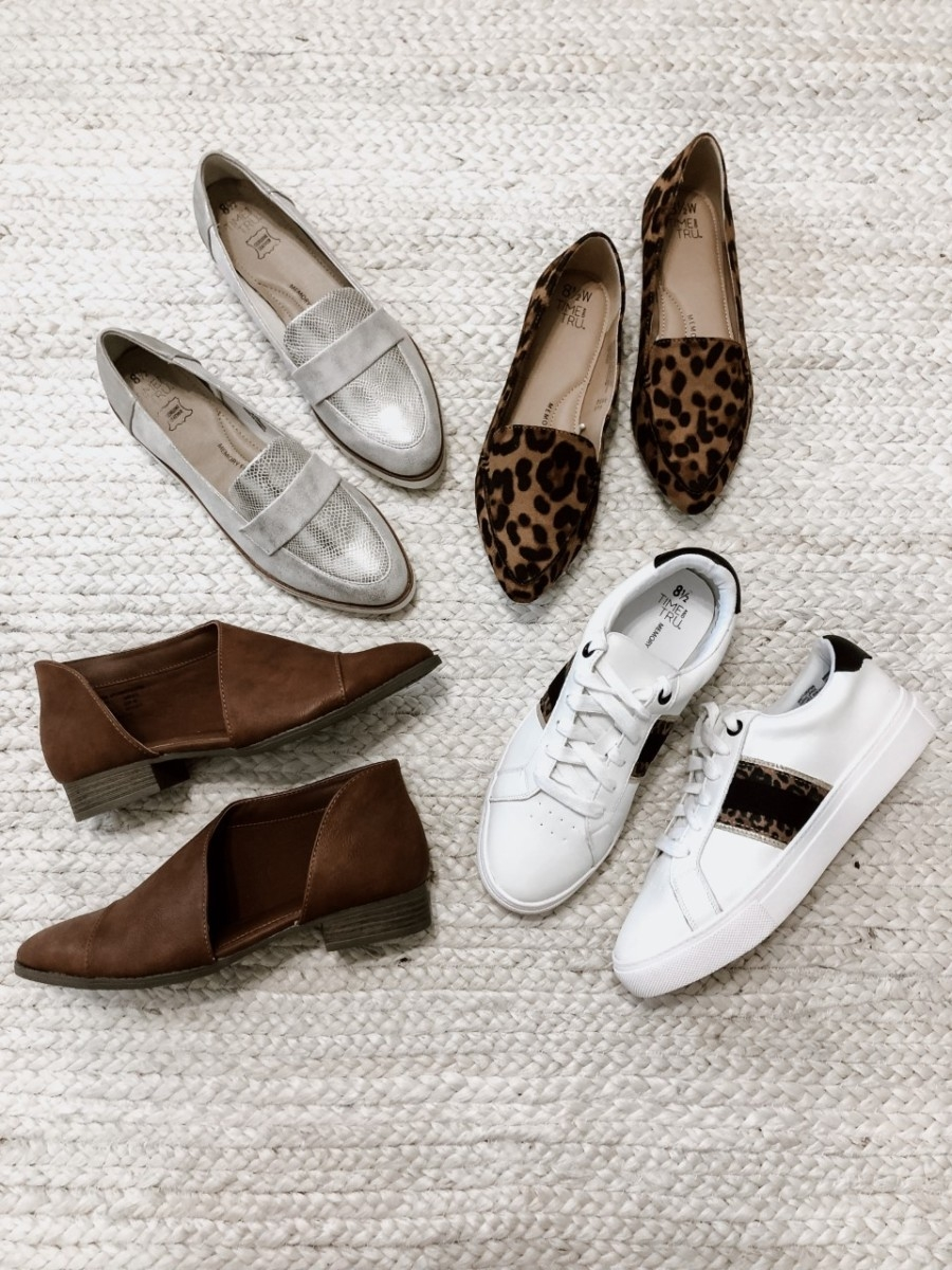 flats for fall | Must Have Affordable Fall Flats by popular Houston fashion blog, Haute and Humid: image of various Walmart flats.