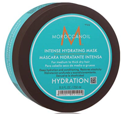 deep conditioner | 15 Best Amazon Beauty Products by popular Houston beauty blog, Haute and Humid: image of Moroccan Oil Intense Hydrating Mask.