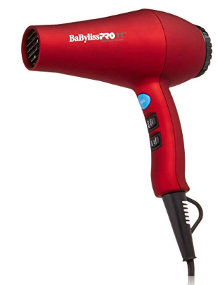 hair dryer under $100 | 15 Best Amazon Beauty Products by popular Houston beauty blog, Haute and Humid: image of Babyliss Pro hair dryer.