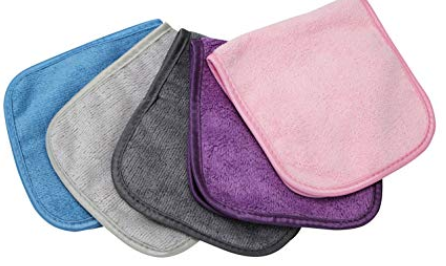 makeup eraser cloth | 15 Best Amazon Beauty Products by popular Houston beauty blog, Haute and Humid: image of makeup eraser cloths.